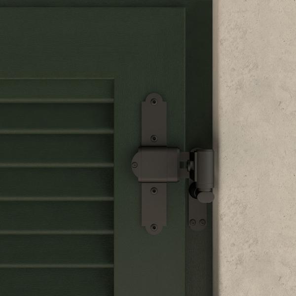 Cerniera per persiana a scavalco