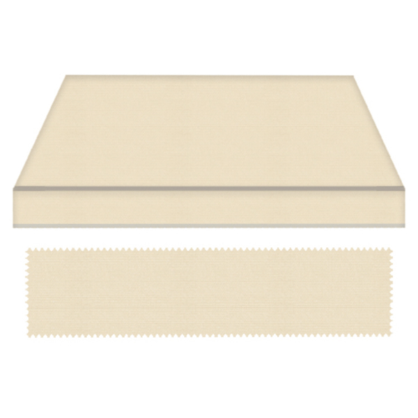 Pergotenda con tessuto beige