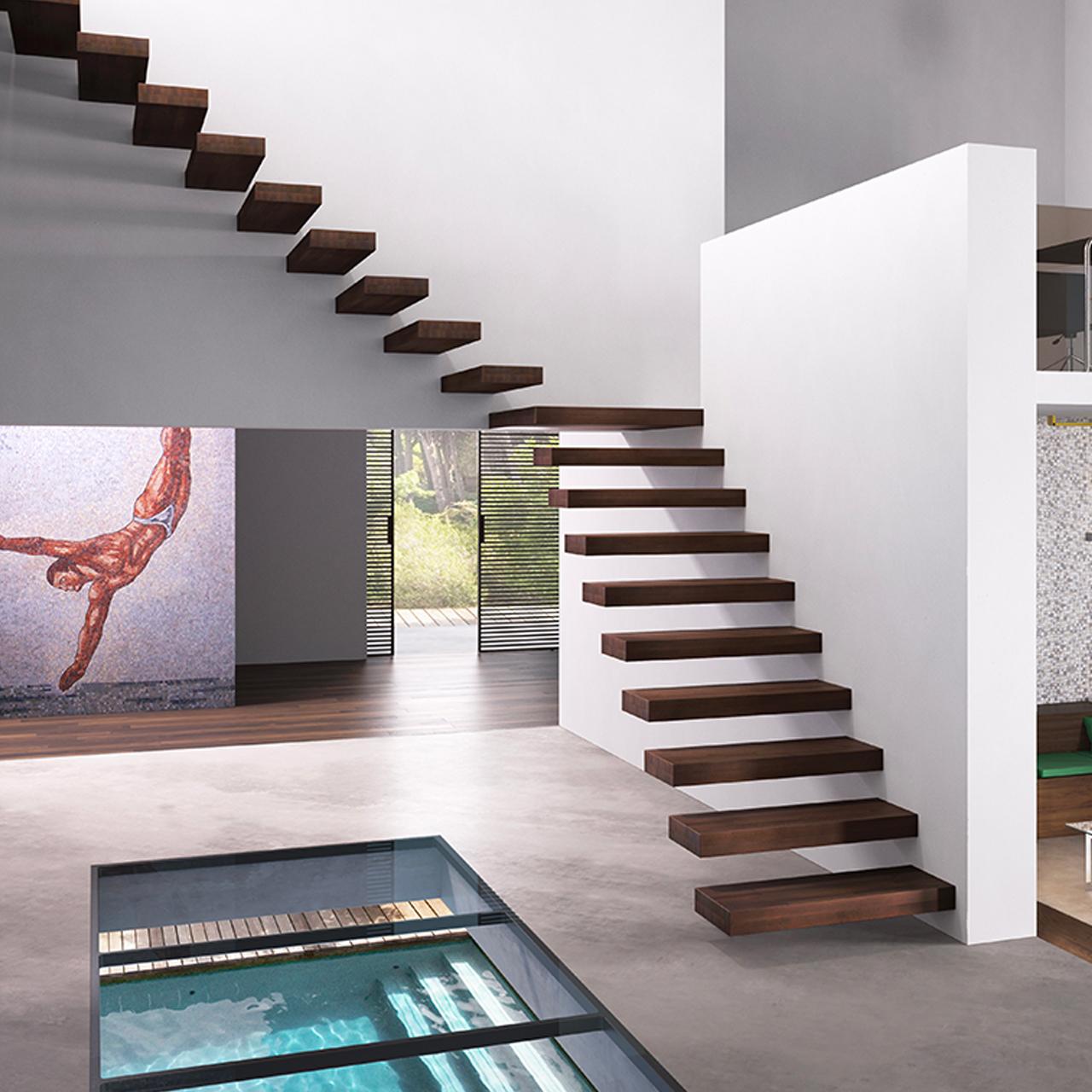 Foto Scale Interne Moderne scale interne per tutti gli ambienti - serramenti.it